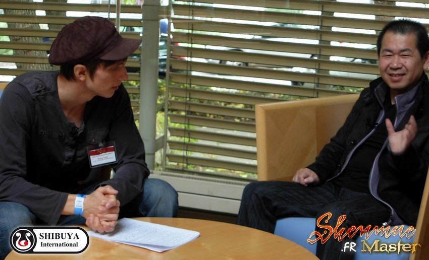 Interview Yu Suzuki Shenmue Master