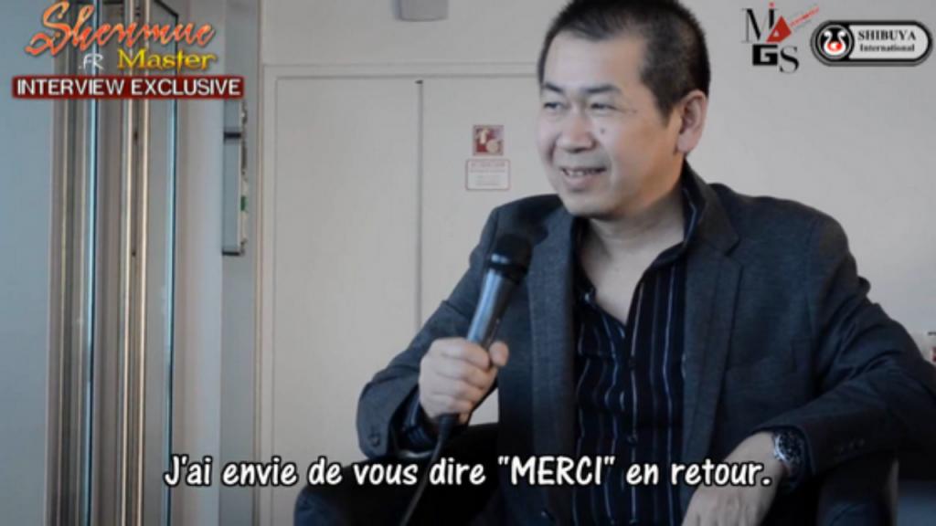 Interview Yu Suzuki MAGS 2013