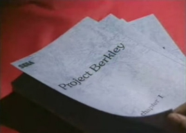 Project Berkley script
