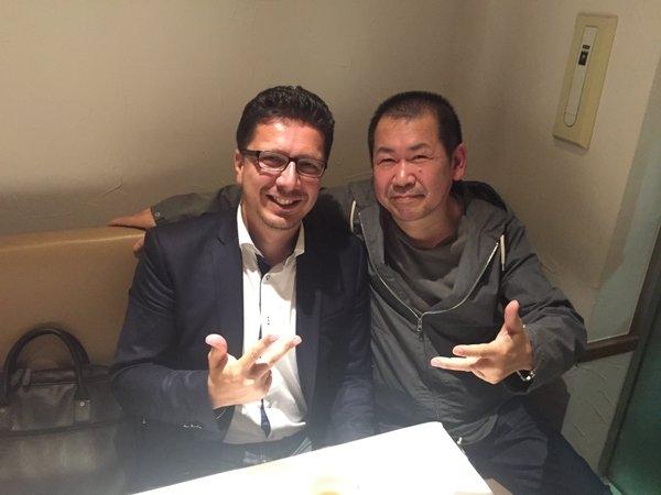 Cédric Biscay et Yu Suzuki