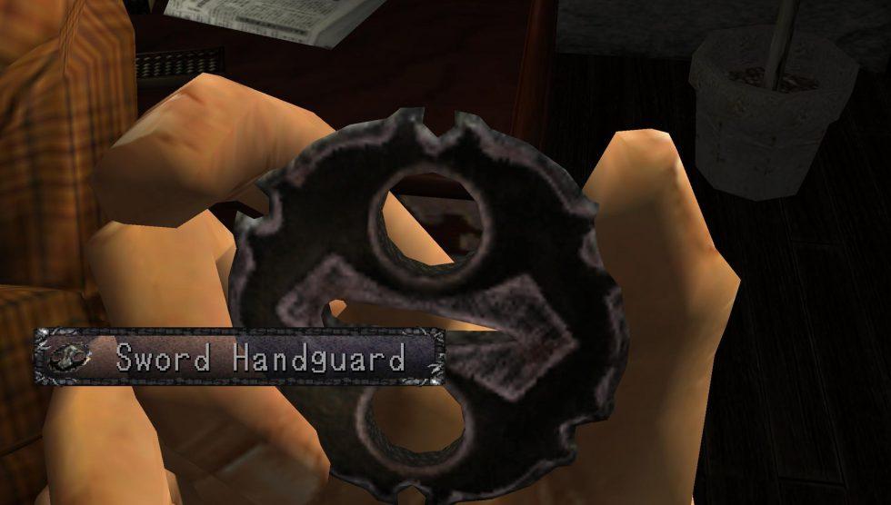 Hazuki Sword Handguard