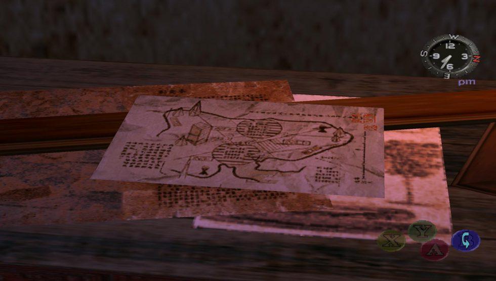 Maison de Shenhua - Mystérieux plan