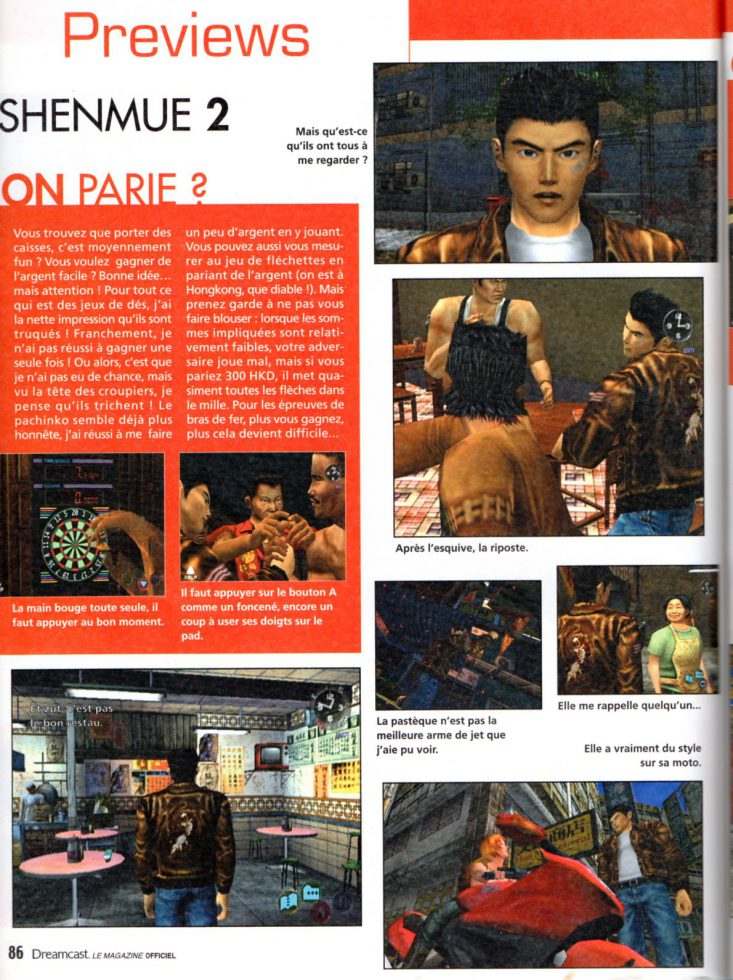 Dreamcast Magazine nov/déc 2001
