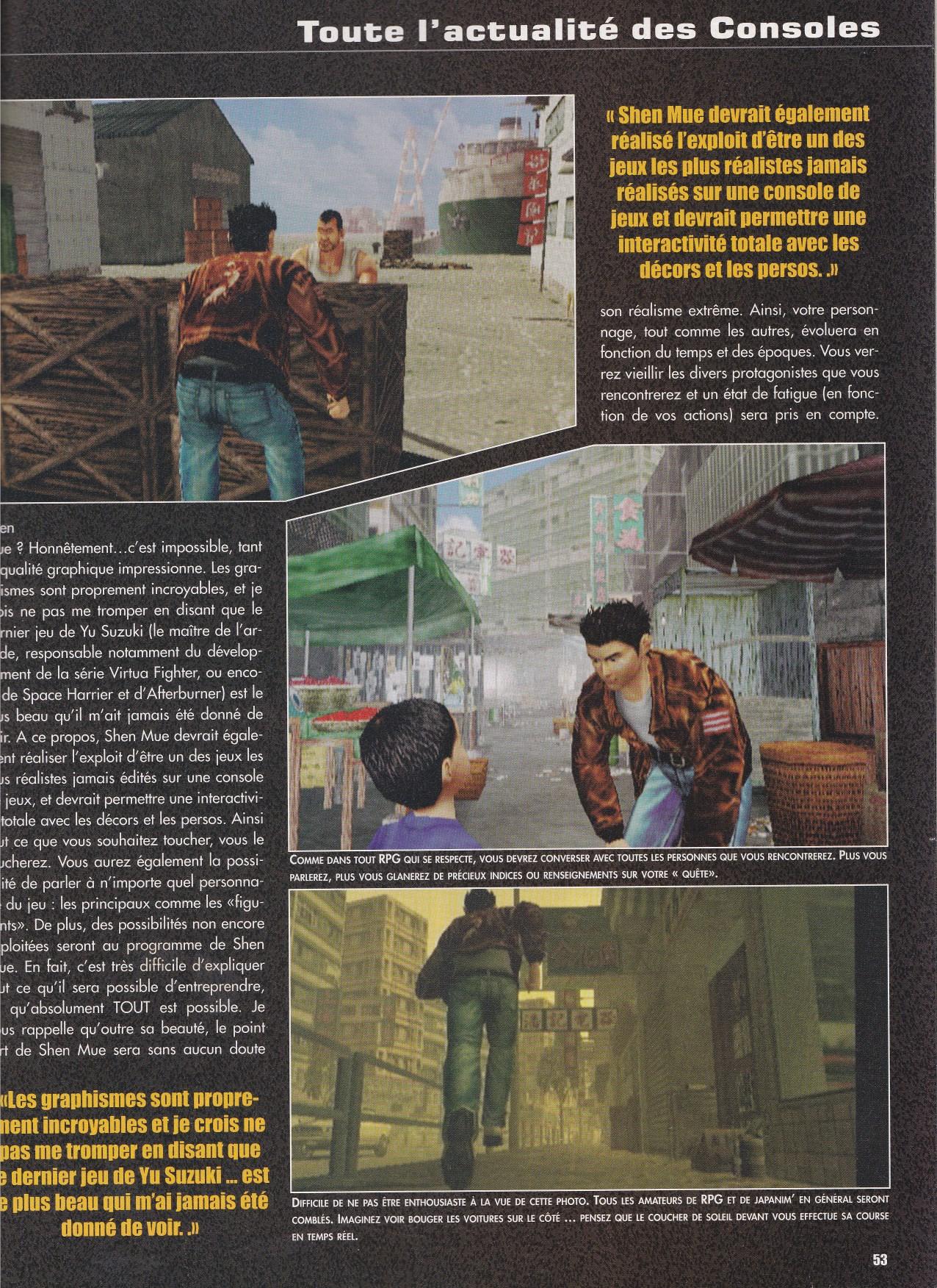 Consoles News février 1999
