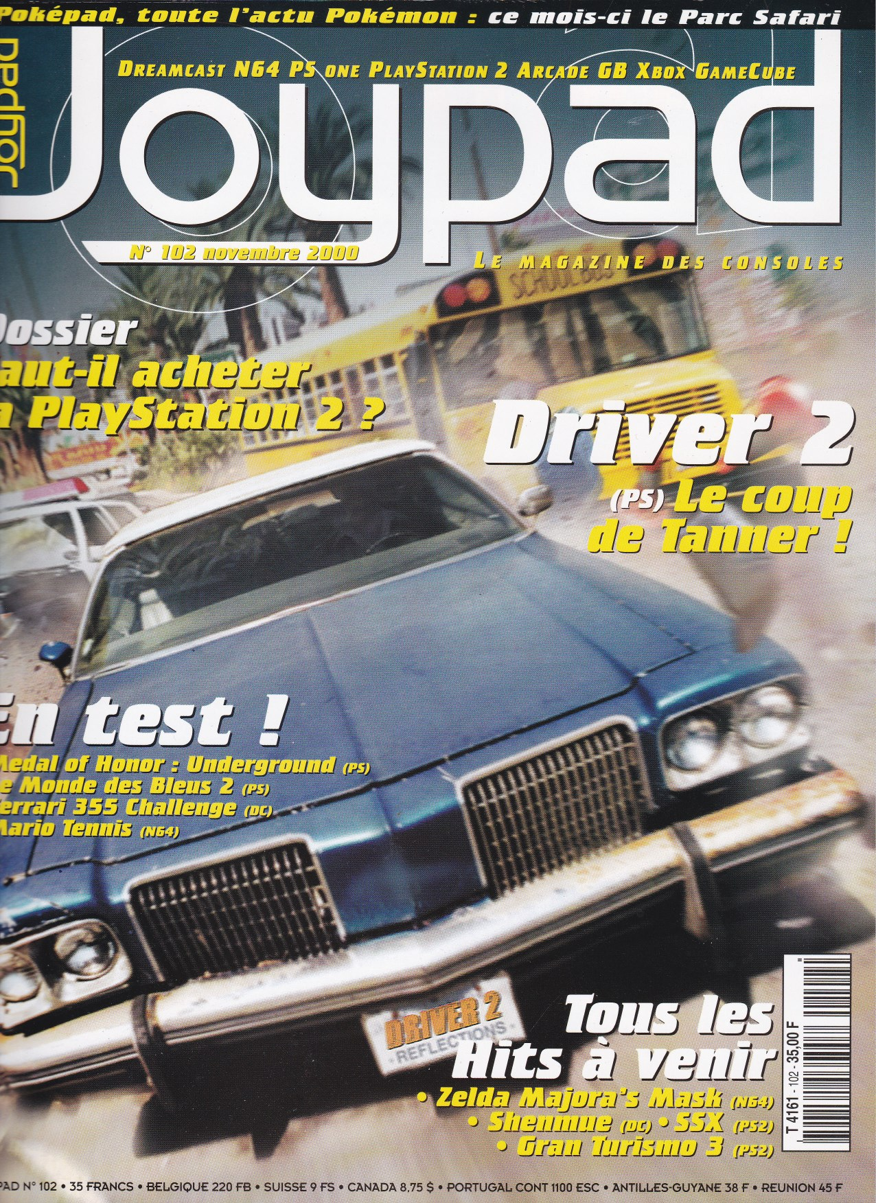 Joypad novembre 2000