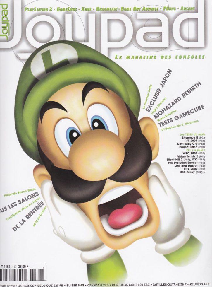 Joypad octobre 2001