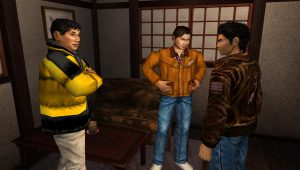 Shenmue Ryo's friends