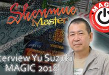 Interview Yu Suzuki MAGIC 2018