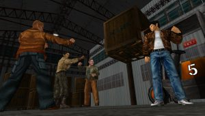 Shenmue Mad Angels combat