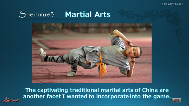 Arts martiaux Shenmue III