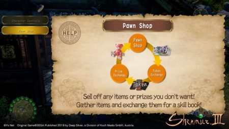 Pawn Shop system Shenmue III