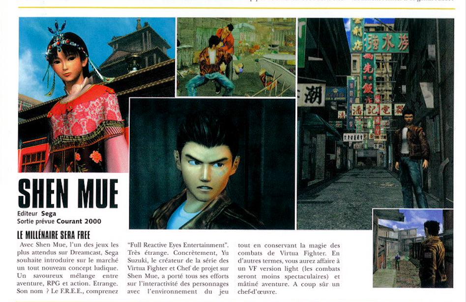 Dreamcast Magazine n°1 octobre 2001
