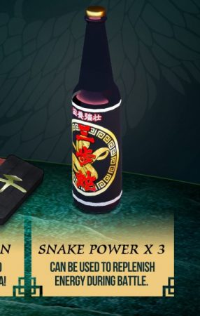 Snake Power Shenmue III