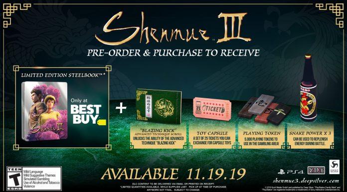Shenmue III Best Buy
