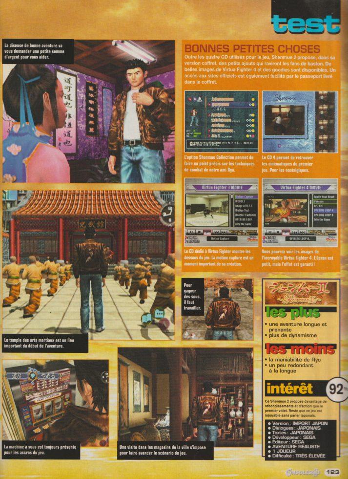 Consoles+ octobre 2001