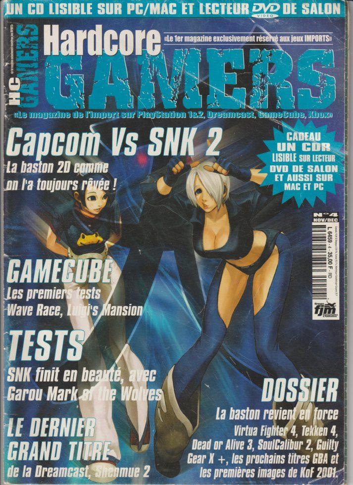 Hardcore Gamers novembre 2001