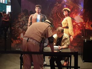 Signatures Yu Suzuki Gamescom 2019