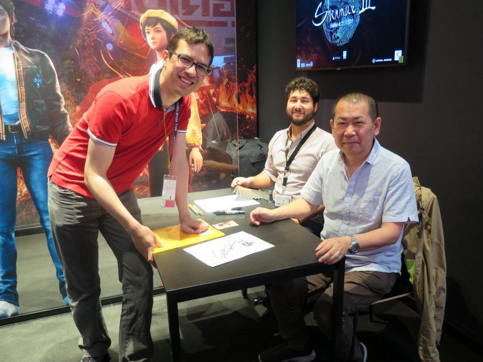 Yu Suzuki Gamescom 2019