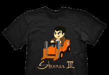 Tee-shirt Shenmue III Deep Silvier
