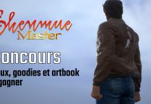 Concours Shenmue Master janvier 2020